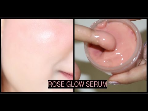 ROSE GLOW SERUM | Get Pink White Glowy, Shiny, Youthful and Spotless Skin Naturally