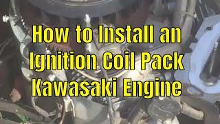 FH721V Kawasaki twin governor and throttle controls
