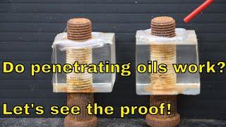 Penetrating Oil Showdown Episode 2. Will Seafoam Deep Creep prevail?