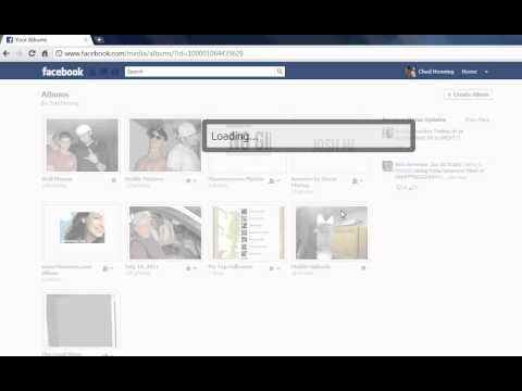 Facebook How to make your pictures private or public