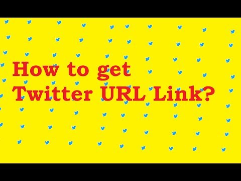 How to find the twitter URL link ?