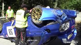Rally & Hillclimb Crash Compilation 2017