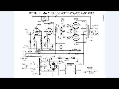 Dynaco Dynakit Amplifier Part 2 - How does the Mark III operate with KT88 6550 6AN8 GZ34
