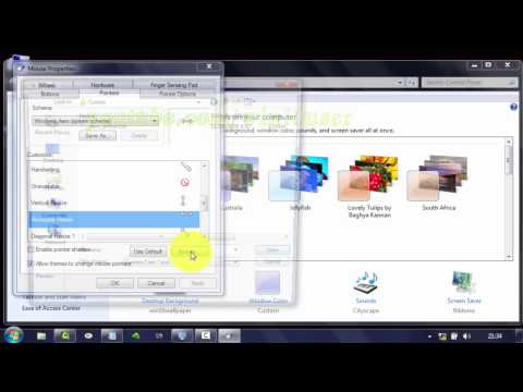 Windwos 7 Tips : How to Change Horizontal Resize Cursor Icon