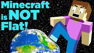 The Final Proof that Minecraft ISN'T FLAT! | The SCIENCE of... Minecraft