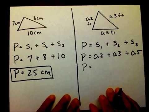 Triangle: Perimeter