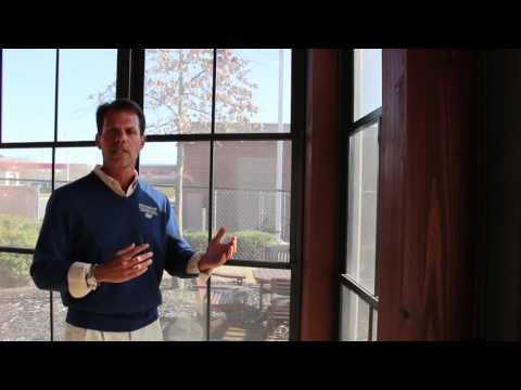 Are Charlotte Eze-Breeze® windows clear and how do you clean them?