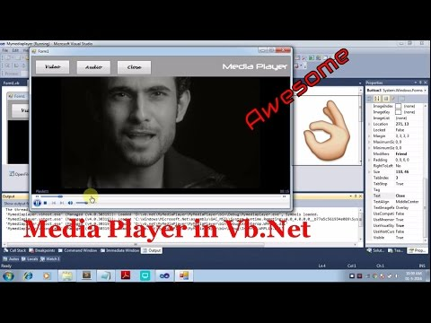 How to create simple Media Player in VB.Net