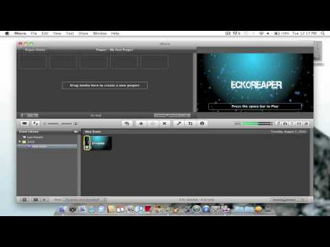 iMovie 09 - Trimming Clips