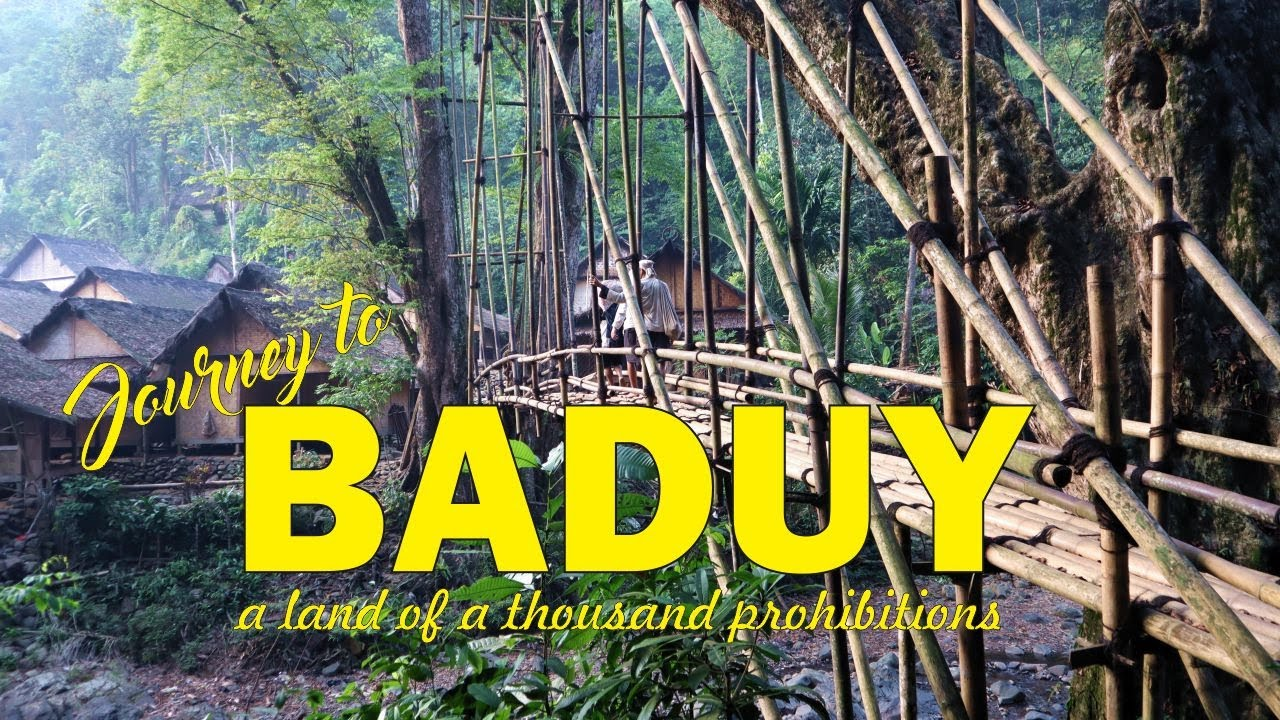 A Short Film: Journey to Baduy, A Land of A Thousand Prohibitions