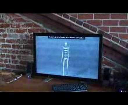 Clean TeQ 3D Plasma Phillips Wowvx Walking Man