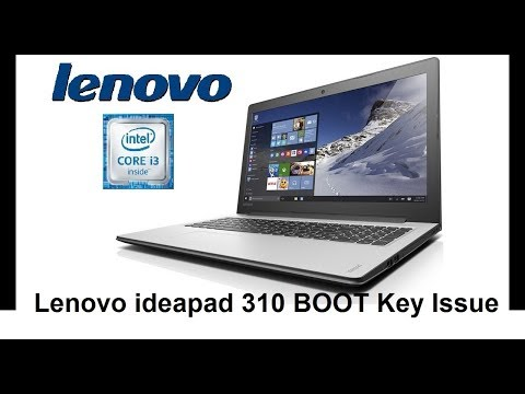 Lenovo ideapad 310 boot issue Tutorial in Urdu & Hindi