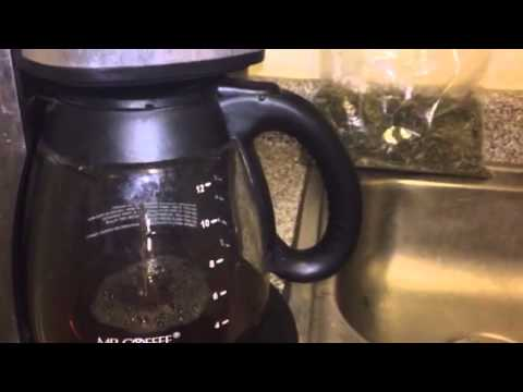 How to make pot tea with a coffee maker