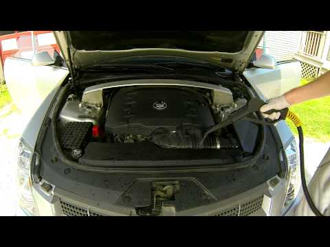 Car Detailing: Cadillac CTS - Engine Compartment Detail, Critical Details