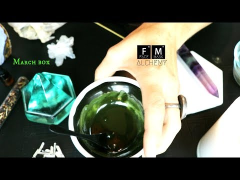 Unboxing the March Face Mask Alchemy box!