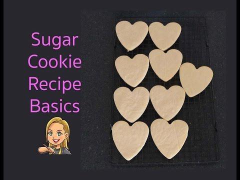 Sugar Cookie Recipe - Hodge Podge Australia Basics