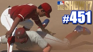 I GOT SO MAD THAT MY PHONE ASKED IF I NEEDED HELP!   MLB The Show 17   Road to the Show #451