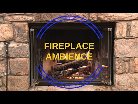 Crackling Fireplace Ambience - 1 Hour of Pure Relaxation
