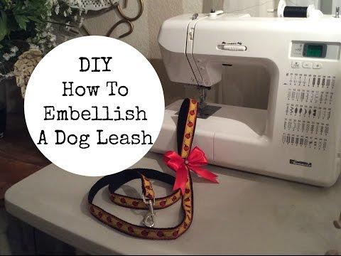 DIY   How to Embellish a Dog Leash
