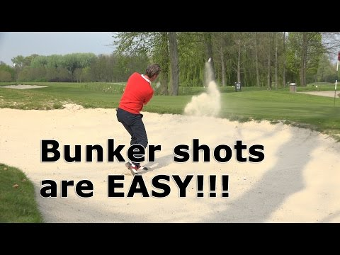 Bunker shots are easy, we make it even easier!