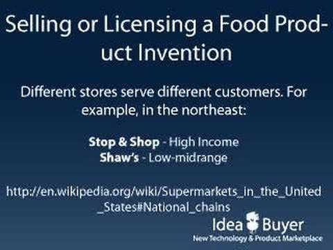 Patent Licensing - Food Products