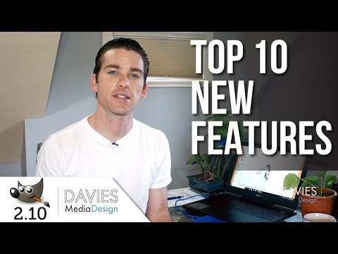 GIMP 2.10 Tutorial: Top 10 New Features