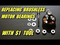 Replacing Brushless Motor Bearings Without A Press