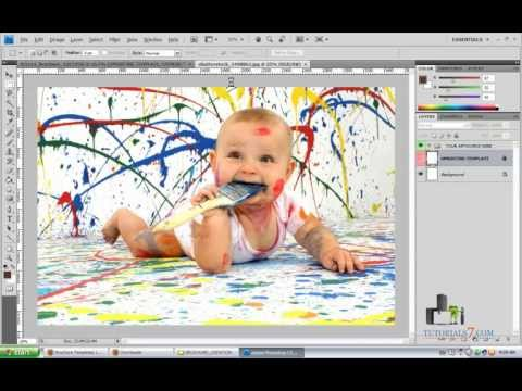Learn how to create a professional brochure with Photoshop program | Brochure Design Ideas