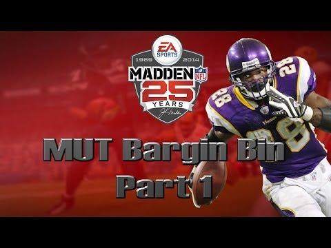 Madden 25 Ultimate Team | MUT Bargin Bin [Part 1]