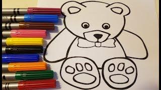 How To Draw A Teddy Bear Teddy Bear Easy Draw Tutorial Pakvim
