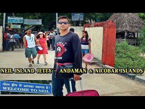 Neil Island Jetty Andaman | Govt Ferry & Makruzz Ticket Counter at Jetty of Neil Island, Andaman