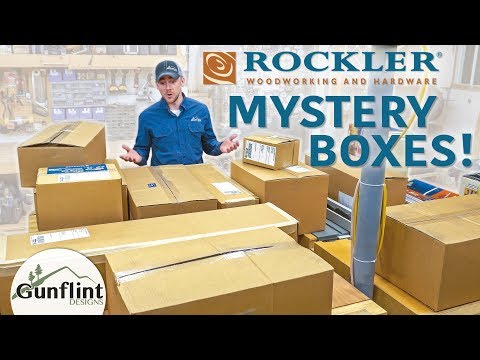 Surprise Gifts from Rockler | Mystery Boxes!