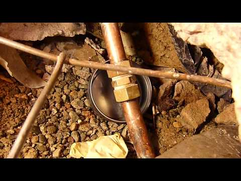 how to fix copper pipe compression fitting leaks