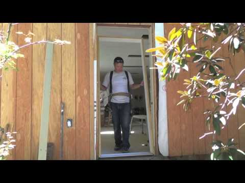 How to Install a Pre-hung Door, steel door, exterior door-DIY/How-to