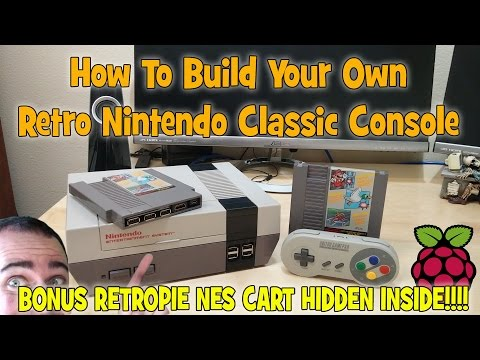 How to build your own Retro Nintendo Classic Console.