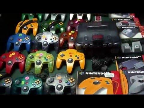 Nintendo 64 Accessories Overview