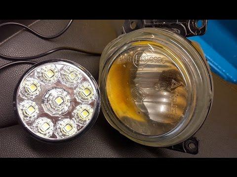 Alfa 159 conversione fendinebbia deteriorati in Day Light (DRL) Full Led