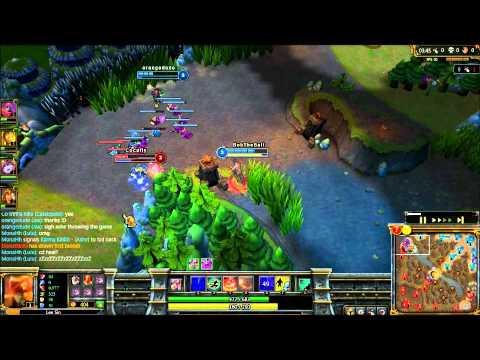 League of Legends: Lee Sin gank