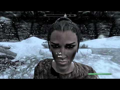 How to get Anska back - Skyrim