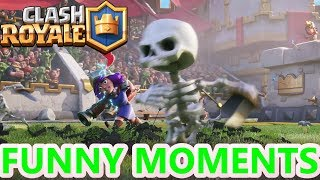 Clash Royale Funny Moments & Glitches & Fails & Trolls Montage #18