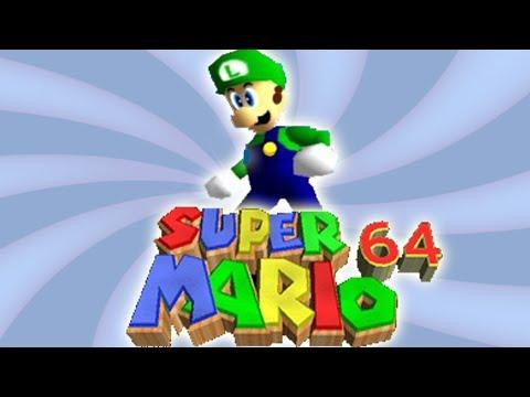 Luigi in Super Mario 64 [GAME SPECULATION]