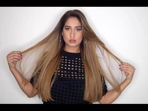 Sleek Straight Hair | How To Get Shiny Straight Hair: My Straight Hair Routine