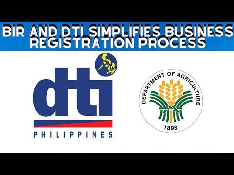 BIR and DTI simplifies business registration process