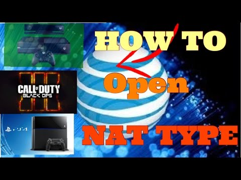 (2016) HOW TO *OPEN* YOUR NAT TYPE FOR AT&T NETWORK AND BO3| Xbox one and ps4