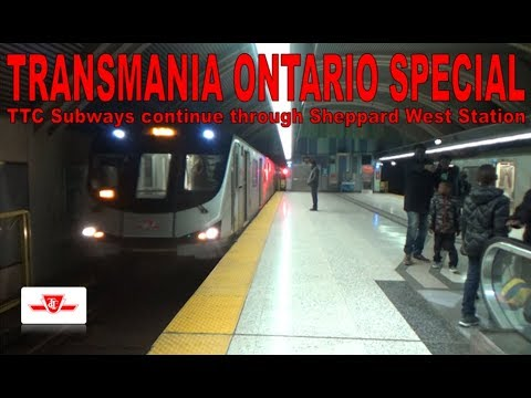 TO SPECIAL - TTC Subways continue through Sheppard West Station