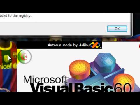 How to create an advanced login system with visual basic 6 portable part 1