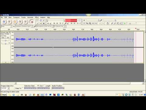 How to Record With Audacity Using a USB Microphone
