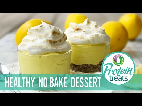 Lemon Dessert No Bake Weight Loss Recipe (Sugar-Free & Gluten-Free) Protein Treats by Nutracelle