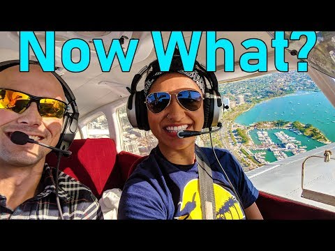 You Got a Pilot License, NOW WHAT?