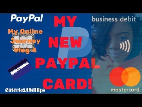 My New 💳PayPal Card! | PayPal 2018| 👩🏽💻My Online Journey Vlog 4